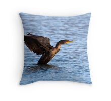 Forward progress Throw Pillow
