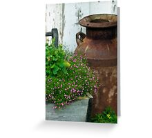 Beautifully Rusted Greeting Card