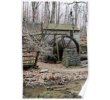 Norris Dam Grist mill. Poster