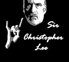 Sir Christopher Lee by berabbit