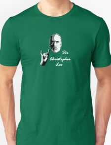 Sir Christopher Lee Unisex T-Shirt