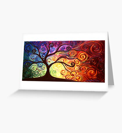 The Tree of Passion Greeting Card