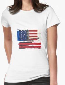 American Dream Womens Fitted T-Shirt