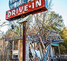 georgia girl drive-in by Lenore Locken