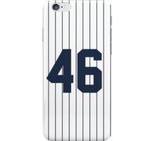 Number 46 Pinstripe Design iPhone Case/Skin