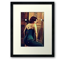 Corseted Beauty Framed Print