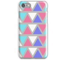 Pastel Triangles iPhone Case/Skin