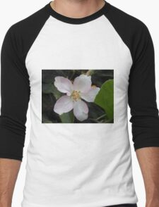 Apple Blossom Men's Baseball ¾ T-Shirt