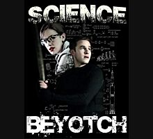 Science Beyotch! // AOS // Fitzsimmons Womens Fitted T-Shirt