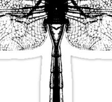 Black Dragonfly Sticker