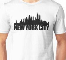 NYC Skyline - black Unisex T-Shirt