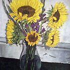Sunflowers by jomillwood