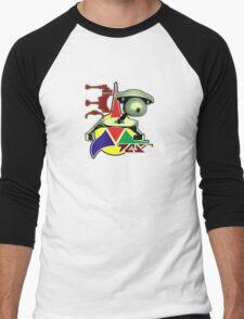 Battlecruiser D7 Front Men's Baseball ¾ T-Shirt