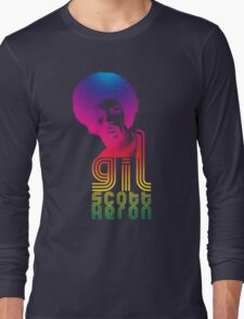Gil Scott-Heron Long Sleeve T-Shirt