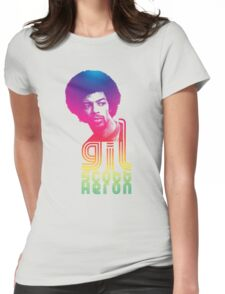 Gil Scott-Heron Womens Fitted T-Shirt