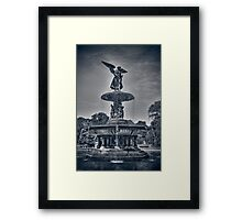 Bethesda Fountain Framed Print