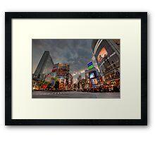 Shibuya • Tokyo • Japan Framed Print