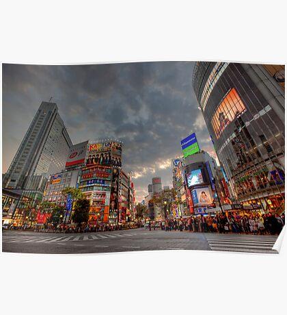 Shibuya • Tokyo • Japan Poster