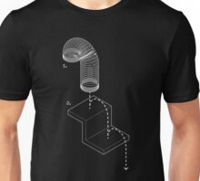 Exploded View Slinky T-Shirt Unisex T-Shirt