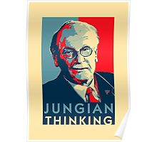 Carl Jung Psychology Poster