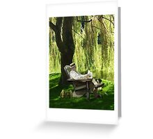 Jung Afternoon Greeting Card