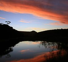 Thurra River Sunset 2010 by Neil Swenser