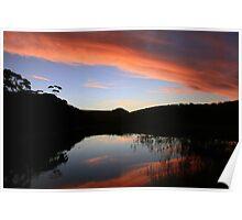 Thurra River Sunset 2010 Poster