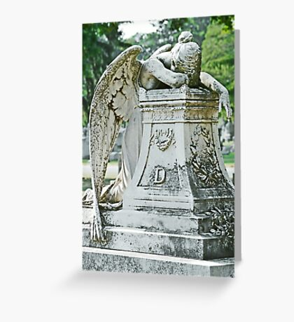 mournful Greeting Card