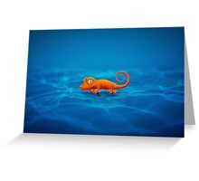 Gecko Greeting Card