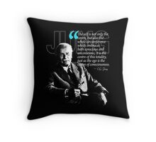 A Quote from Carl Gustav Jung Quote #4 of 50 available Throw Pillow
