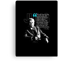 A Quote from Carl Gustav Jung Quote #4 of 50 available Canvas Print