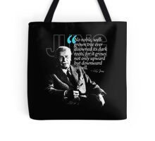 A Quote from Carl Gustav Jung Quote #10 of 50 available Tote Bag