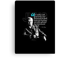 A Quote from Carl Gustav Jung Quote #10 of 50 available Canvas Print