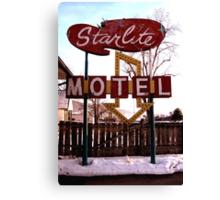 Starlite Motel Canvas Print