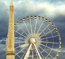 Wheel Obelisk by Steve Mezardjian