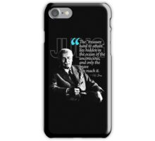 A Quote from Carl Gustav Jung Quote #12 of 50 available iPhone Case/Skin