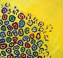 Yellow Molecular Landscape by JETIII