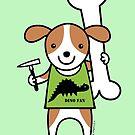 Paleontologist Puppy Dog  by zoel