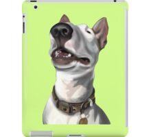 Lola English Bull Terrier Painting 2 iPad Case/Skin