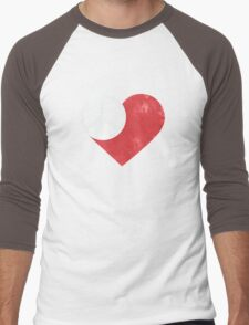 Peace & Love Men's Baseball ¾ T-Shirt