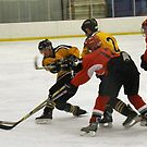 Hockey Action #4 by AuntieJ