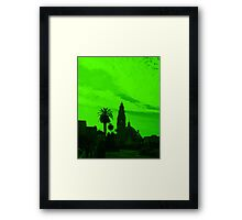 Going Green in San Diego! Framed Print