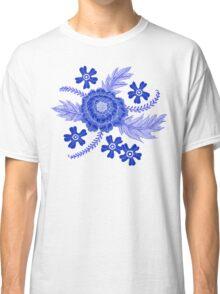 Blue Peony Classic T-Shirt