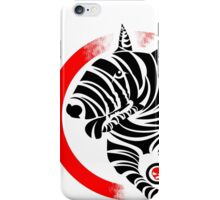 Zebra English Bull Terrier - ZEBTRA iPhone Case/Skin