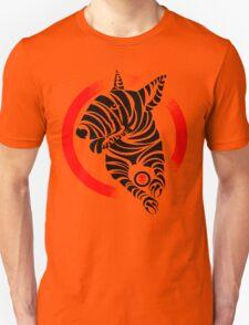 Zebra English Bull Terrier - ZEBTRA Unisex T-Shirt