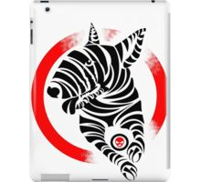 Zebra English Bull Terrier - ZEBTRA iPad Case/Skin