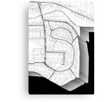 S for SIIVOI Canvas Print