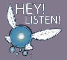 Navi!  HEY! LISTEN! Kids Tee