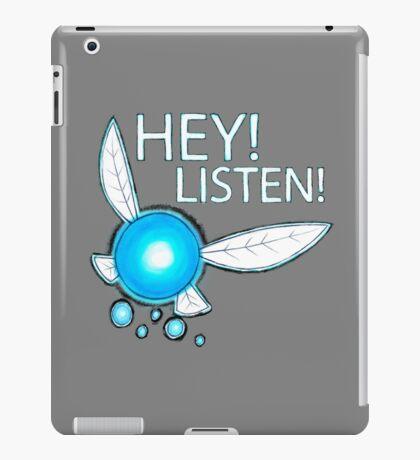 Navi!  HEY! LISTEN! iPad Case/Skin