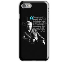 A Quote from Carl Gustav Jung Quote #22 of 50 available iPhone Case/Skin